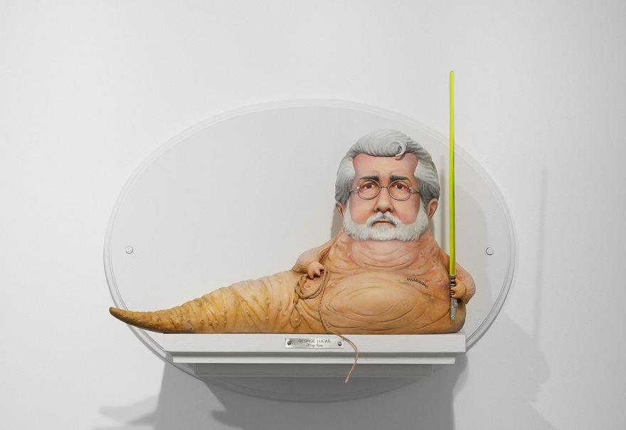 La statuetta di George Lucas