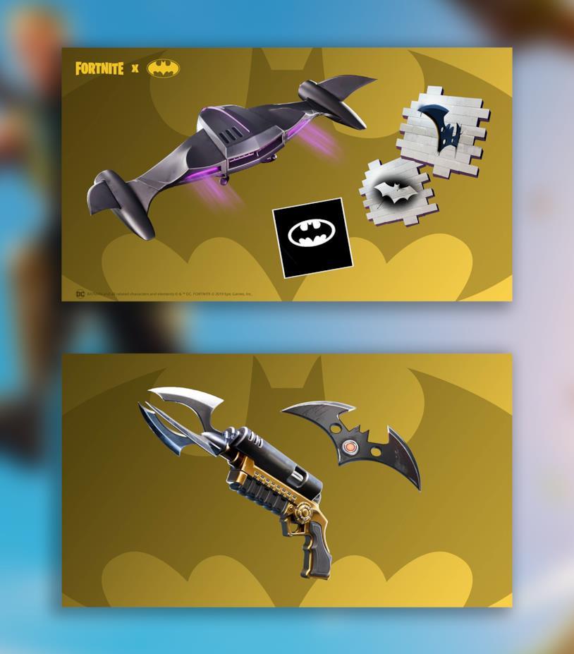 I gadget sbloccabili ed utilizzabili durante l'evento Fortnite X Batman