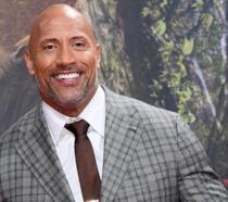 """Dwayne """"The Rock"""" Johnson alla prima di Jumanji - Benvenuti nella giungla"""