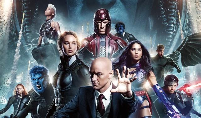Il professor Charles e alcuni tra i più importanti X-men della saga cinematografica