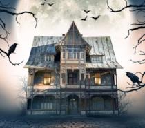 L'immagine di una casa stregata