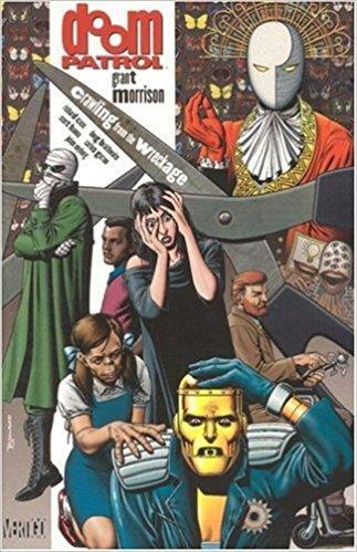 Copertina di uno dei numeri della Doom Patrol gestita da Grant Morrison