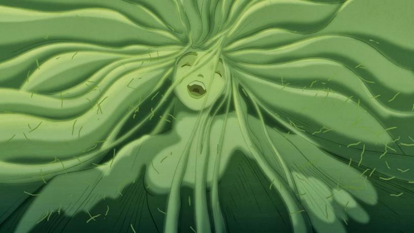 La rinascita della Valle personificata in una ninfa in Fantasia 2000