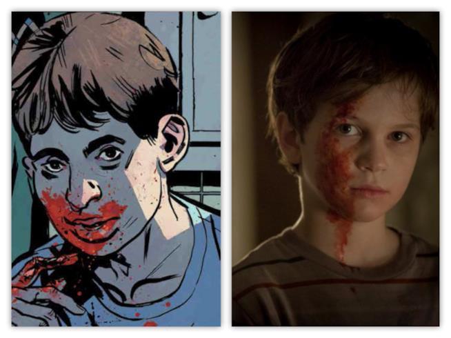 Joshua Austin fra fumetto e serie TV