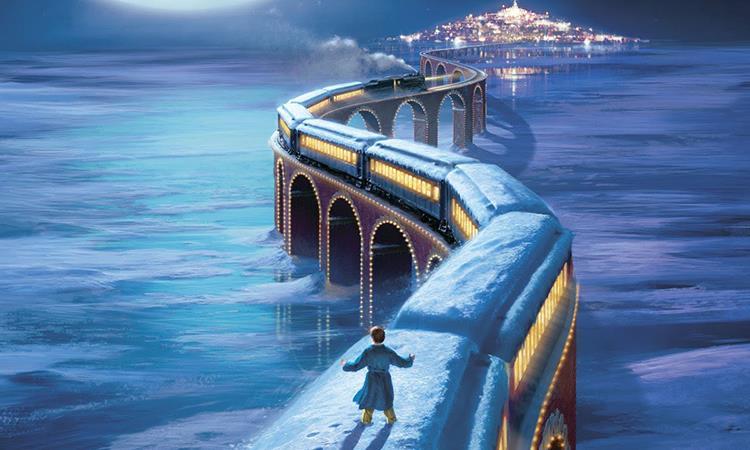 Un'immagine tratta da Polar Express