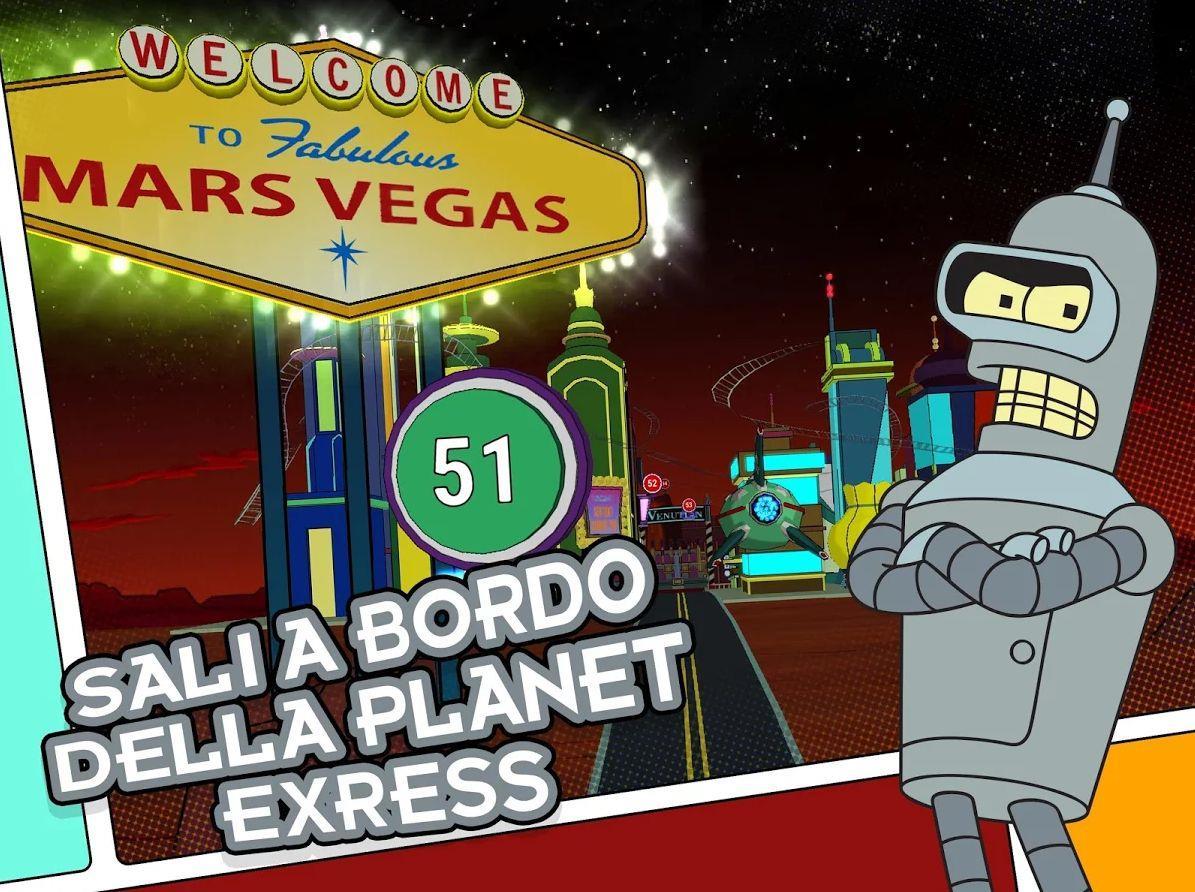 Bender nel gioco Futurama: Game of Drones