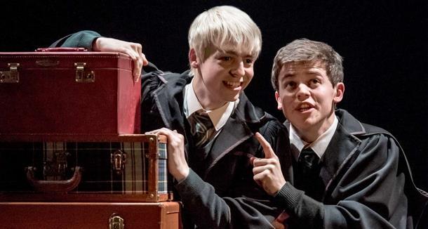 Scorpius e Albus Severus in Harry Potter and the Cursed Child