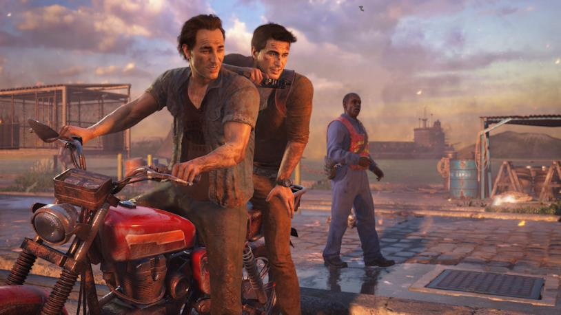 Nathan e Sam Drake, fratelli in Uncharted