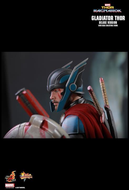 Armato per l'azione, Thor in versione gladiatore non teme rivali