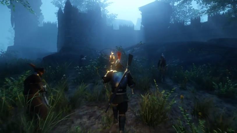 Uno screenshot di gioco da New World