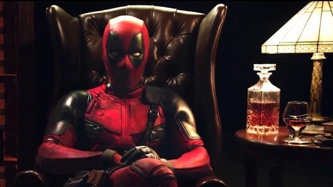Deadpool aspetta in poltrona la su nuova serie animata