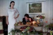 Un momento del matrimonio a tema Harry Potter