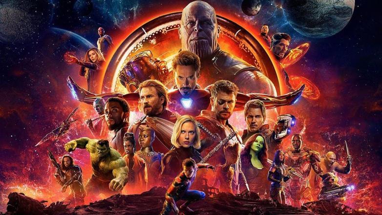 Il poster promozionale di Avengers: Infinity WarMarv
