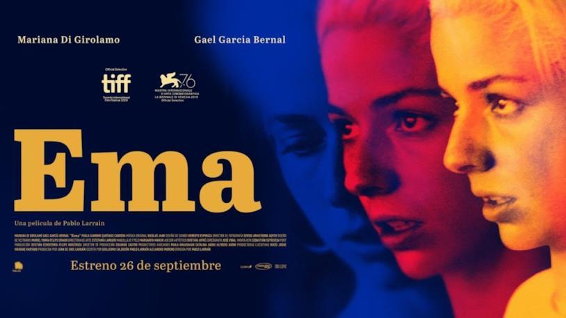 Il poster promozionale di Ema