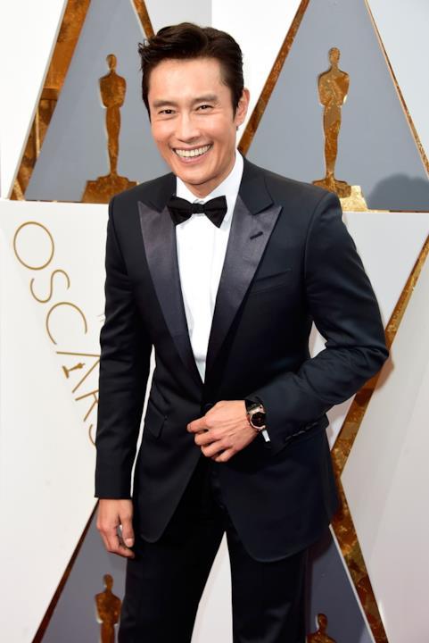 Byung-Hun Lee alla Cerimonia degli Oscar, a Los Angeles.