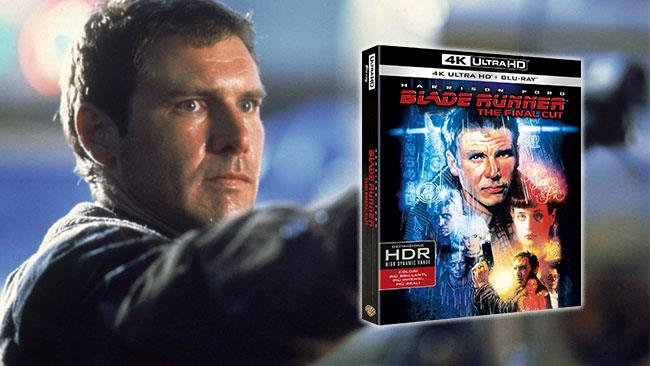 Il cofanetto 4K UHD di Blade Runner