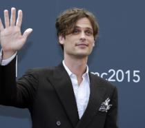 Matthew Gray Gubler saluta i fans al Monaco TV Festival