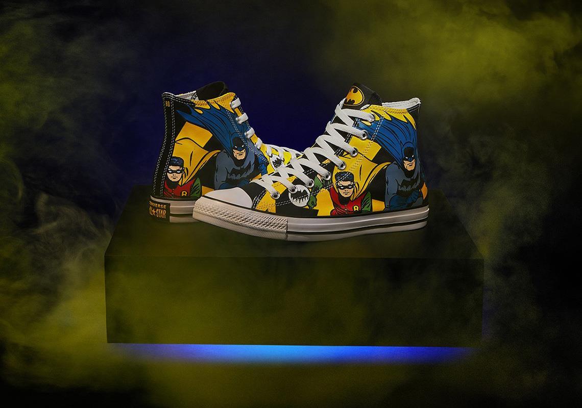Le scarpe Converse con Batman e Robin