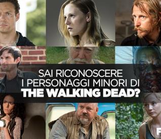 Sai riconoscere i personaggi minori di The Walking Dead?