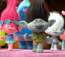I Trolls del film DreamWorks