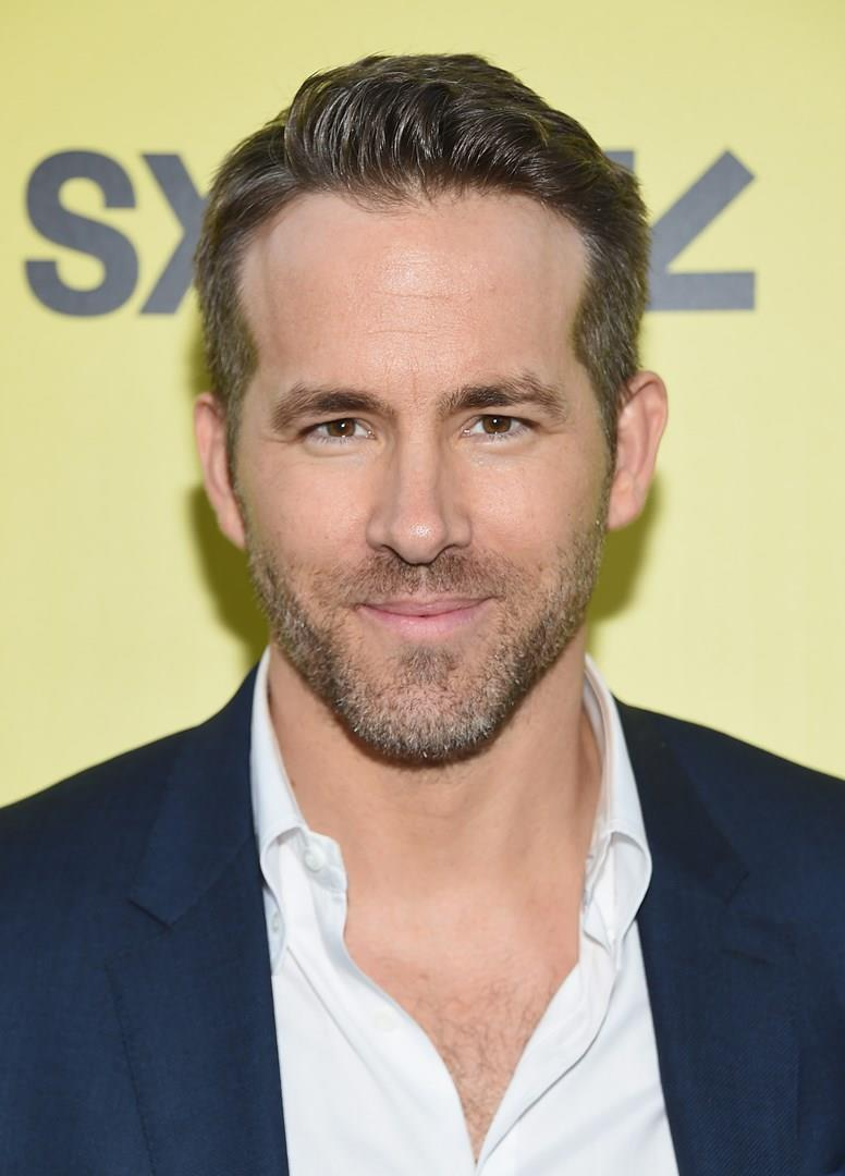 Ryan Reynolds in primo piano