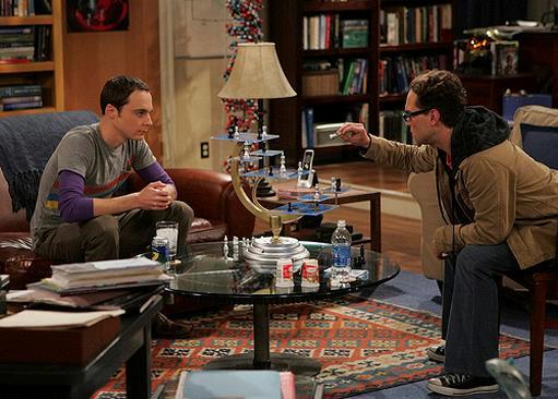 Scacchi tridimensionali di Sheldon Cooper