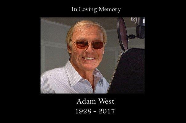 La foto di Adam West apparsa alla fine della puntata dei Griffin