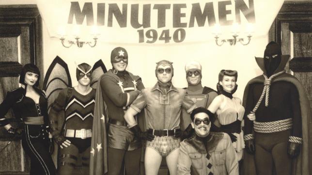 Una foto dei Minutemen