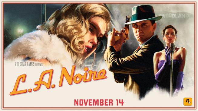L.A. Noire in uscita su PS4, Xbox One, Switch e HTC Vive