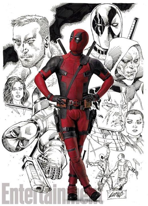 Tra fumetto e cinema, il poster speciale per il film di Deadpool