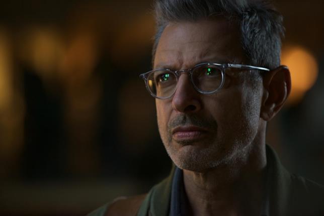 Jeff Goldblum interpreta per la seconda volta David Levinson