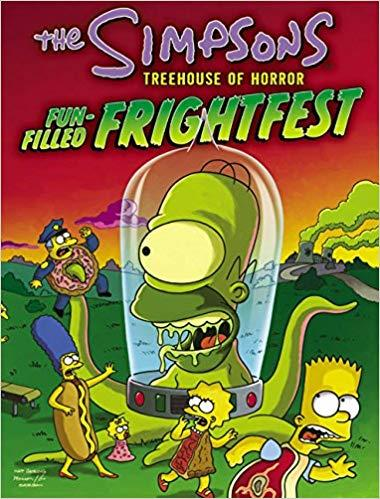 I fumetti de La paura fa novanta da I Simpson