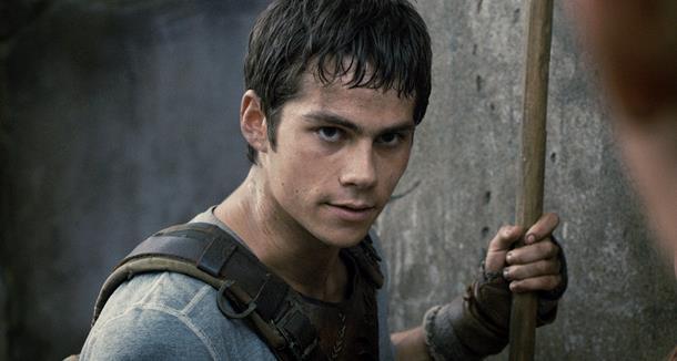 Dylan O'Brien, protagonista della saga di The Maze Runner