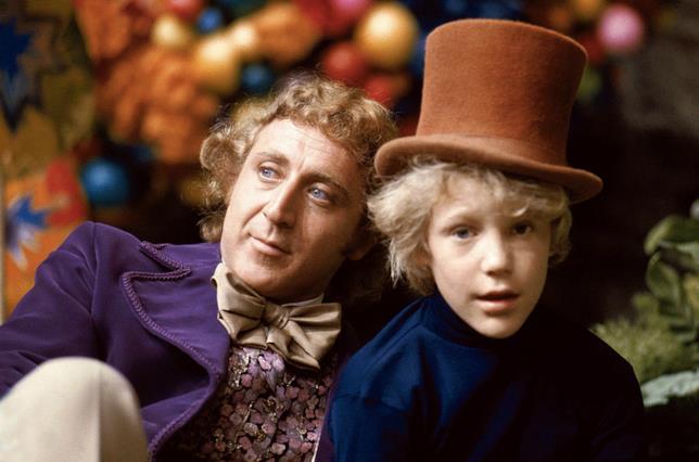 Charlie e Willy Wonka ne La Fabbrica di Cioccolato