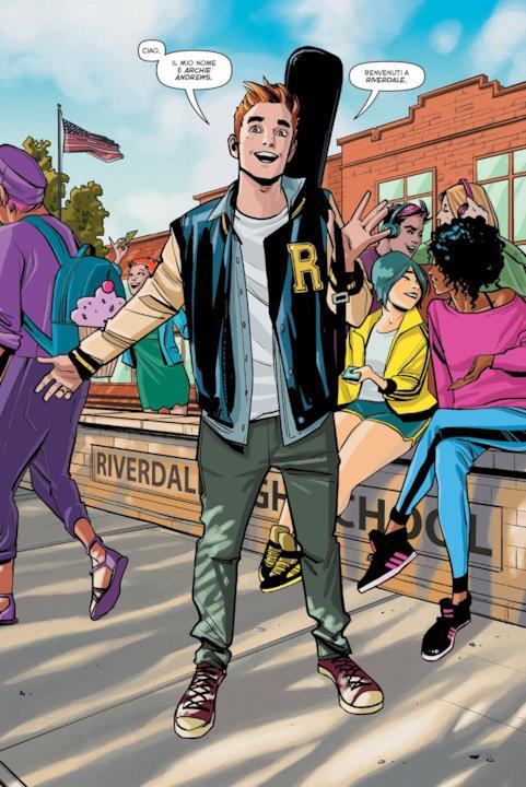 Archie ci dà il benvenuto a Riverdale