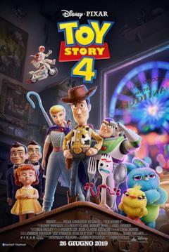 Woody, Buzz, Forky e Bo nel poster italiano di Toy Story 4
