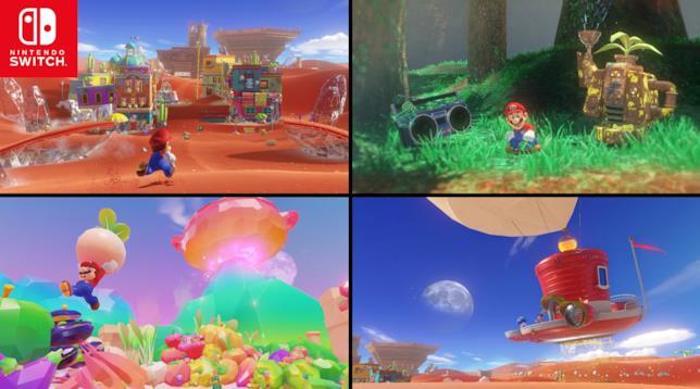 Nintendo Switch accoglie Super Mario Odyssey