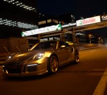 Porsche in notturna in Gran Turismo Sport