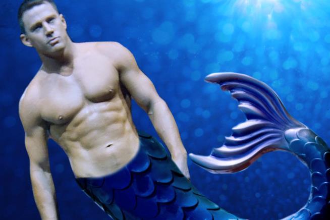 Channing Tatum sarà un Sirenetto nel remake di Splash una Sirena a Manhattan