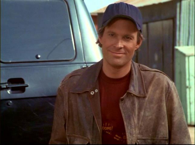 Dwight Schultz in una foto ai tempi della serie A-Team