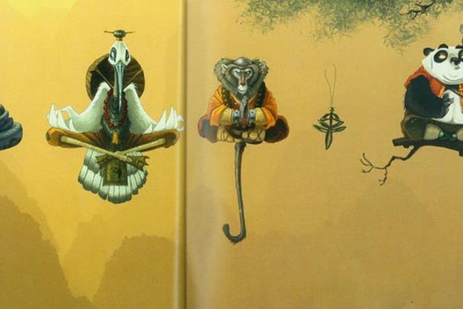Concepet art: Kung Fu Panda