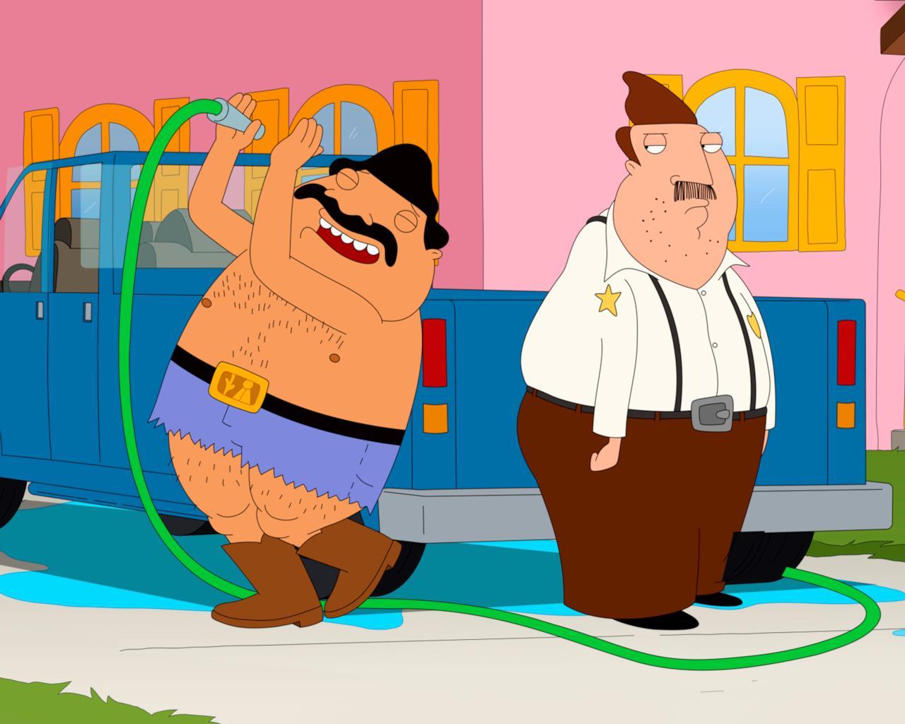 Ernesto felice e Bud invidioso nel quarto episodio di Bordertown