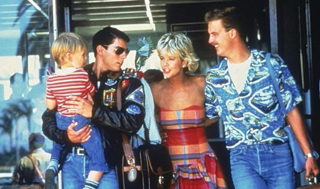 Una scena del Top Gun del 1986