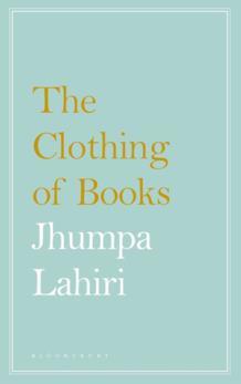 La copertina inglese de Il vestito dei libri Jhumpa Lahiri