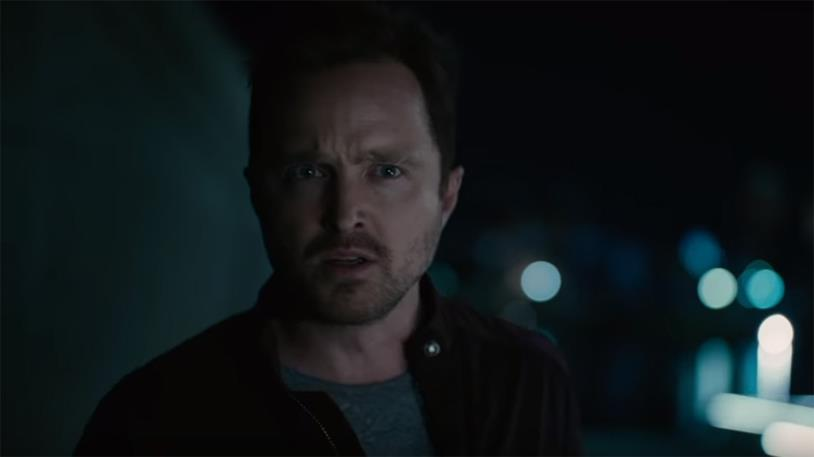 Aaron Paul in una sequenza di Westworld 3