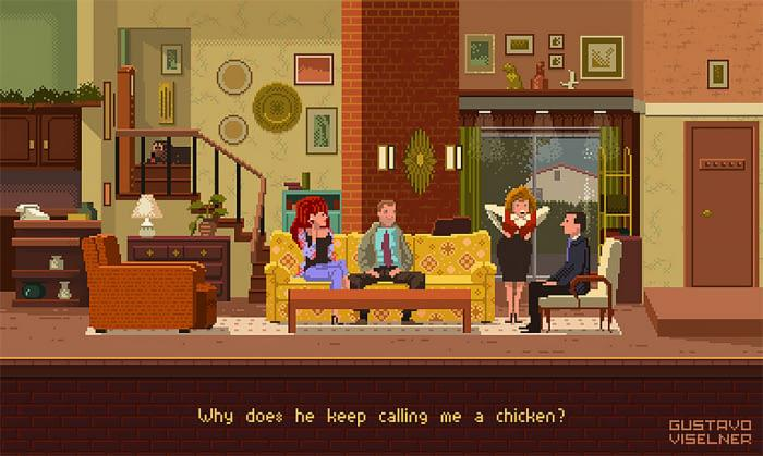 Married... with Children rivive in 8-bit