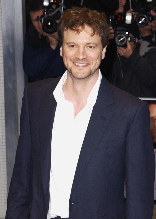 Colin Firth in primo piano