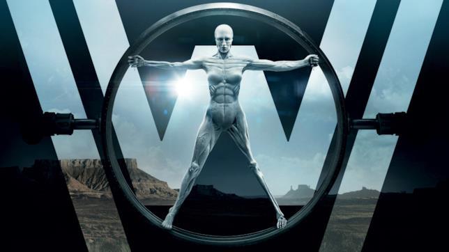 Il noto logo della serie HBO Westworld