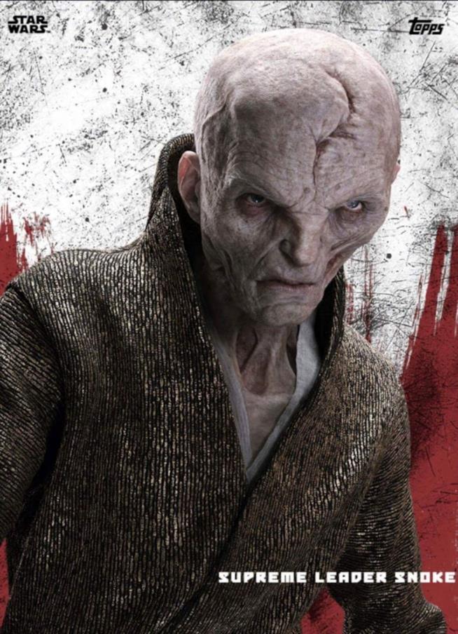 Star Wars — immagine del Leader Supremo Snoke