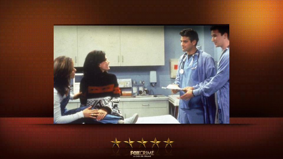 Friends e E.R. – Rachel si fa male a una caviglia e finisce, insieme a Monica, nel pronto soccorso di E.R.